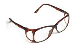 Óculos de proteção radiológica Kiran – Modelo Frontal e Lateral